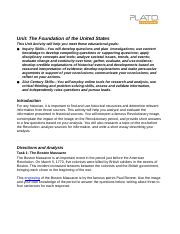 Foundations of the United States.docx