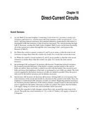 1_Ch 18 College Physics ProblemCH18 Direct-Current Circuits