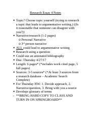 Comp 2 - Research Essay 4 Notes.docx
