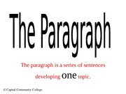 paragraph and topic sentence (1)