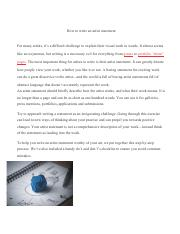 How to write an artist statement.pdf