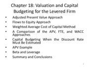 MGFC10_Chapter18_Capital Budgeting and Leveraging