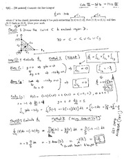 MATH 111 Fall 2012 Midterm 3 Solutions