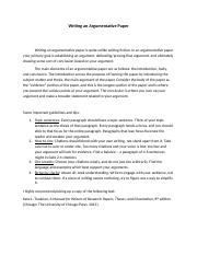 Writing an Argumentative Paper (1).docx