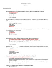 FINAL REVIEW QUESTIONS BUAL 2600