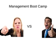 Management Boot Camp