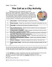 Cell City Benchmark 1