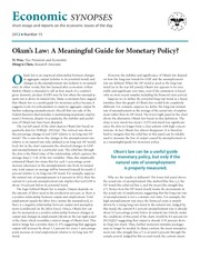 Okun's Law A Meaningful Guide for Monetary Policy