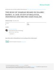 e8-Norhastuty Role of Shariah Board in IB