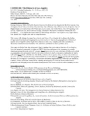 Annenberg - COMM 360 syllabus - Fall 2012