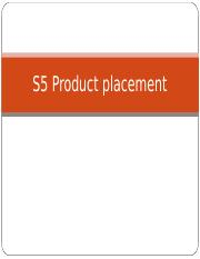 S5.pdt placement in films and TV.PW.ppt