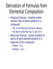 Composition Stoichiometry B