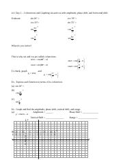 11-9 notes B graphing trig functions