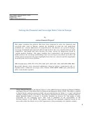 Session 7 - Adrian Blundell-Wignall - Solving the Financial and Debt Crisis in Europe - 2012.pdf