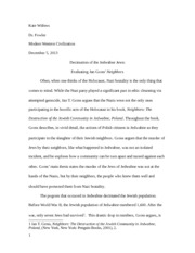 Neighbors Essay
