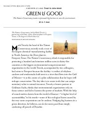 Max 2014 - Green Is Good - The New Yorker
