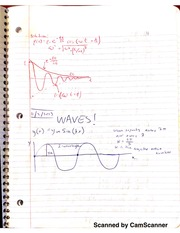 Notes on Waves
