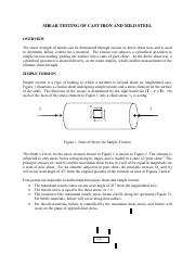 SHEAR TESTING OF CAST IRON AND MILD STEEL.pdf