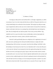 Personal essay on the american dream