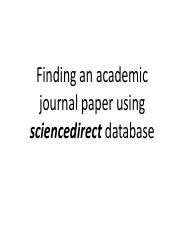 How to get an academic paper from sciencedirect database.pdf