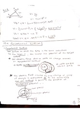 equipotential surfaces notes
