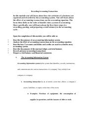 Recording Accounting Transactions Lecture Notes Student Version.docx