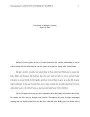 enriques journey essay introduction