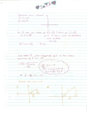 Pre-Calculus Standard Unit Vectors Notes