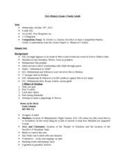 Art History Exam 3 Study Guide