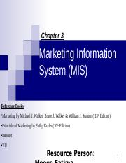 3 Marketing Function & M Information System.ppt
