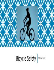 Apply 2-1 Bicycle Safety
