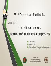 Lecture 3 Normal and Tangential Components.pdf
