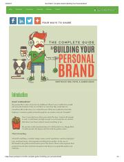 Neil Patel's Complete Guide to Building Your Personal Brand.pdf