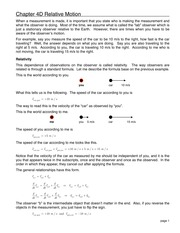 10 Chapter 4D Relative Motion