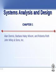 ch01 The Systems Analyst and Information Systems Development.ppt