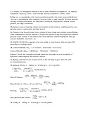 Cheimistry Chapter 12 Group Solutions