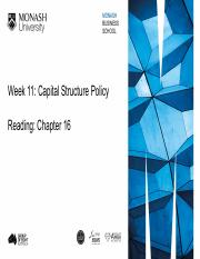 Week 11 - Capital Structure Policy.pdf