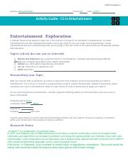 BARACHEL BUTLER U3L01 - Activity Guide - CS in Entertainment .docx