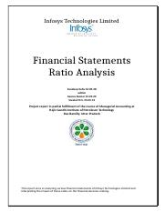 22902409-Financial-ratio-analysis-infosys-Project-Report