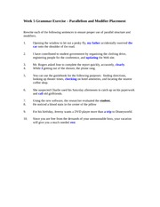 Nora_GM410_Week_5_Grammar_Exercise_Parallelism