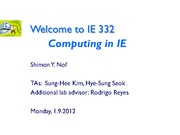 w1_1_Welcome to IE332_Sp12