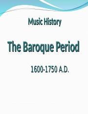 4 The Baroque PPT.ppt