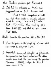 calculus 31a midterm June 2015 granted to students who achieve grades of 3 or higher on at least five  full-year ap exams, and whose average ap exam grade is at least 35.