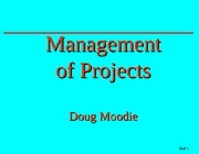 8860 Management of Projects0