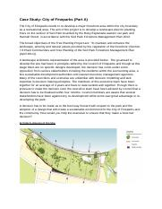 Case Study --The City of Fineparks Part A for discussion in class.docx