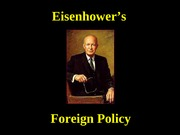 Eisenhower-ForeignPolicy