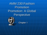 AMM 230 Chapter 1