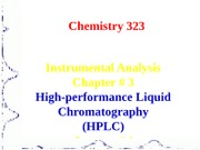 Chapter 3 HPLC Lecture 1 %26 2