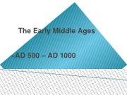 Early Middle Ages 2012