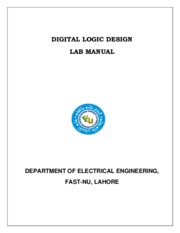 Digital Logic Design Lab Manual_30 July